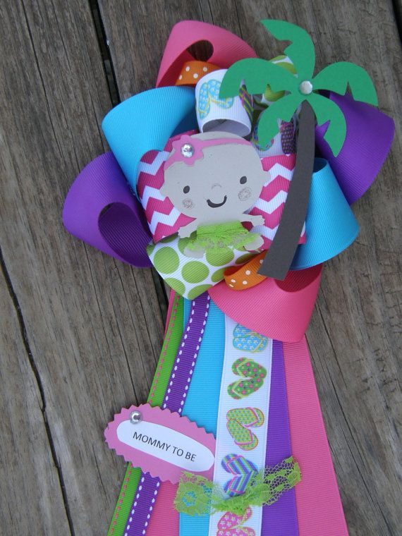 luau baby showerluau mumluau party by bonbow on Etsy, $17.99