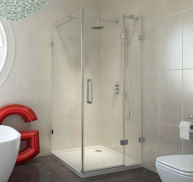 large corner shower units. Frameless Hinged 760 x  scene square large Best 25 Corner shower enclosures ideas on Pinterest