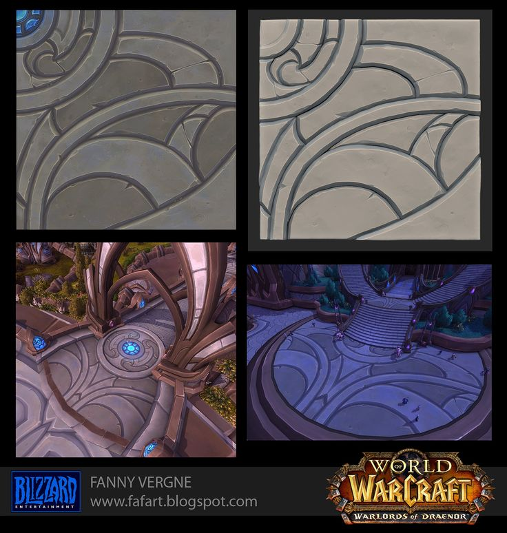 ArtStation - Texturing and Modeling - Warlords of Draenor, Fanny Vergne