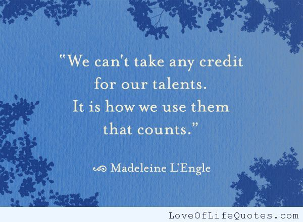 Madeleine LEngle