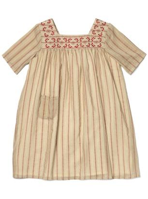 Noro girls dress (that embroidered neckline!)