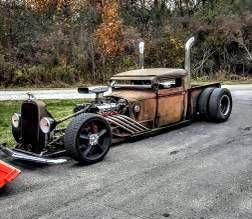Long John Rat Rod Truck
