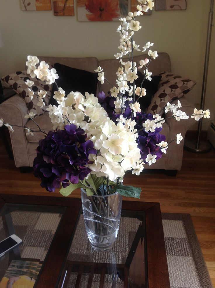 Our New Flower Arrangement For The Living Room Home Is Where The Heart Is