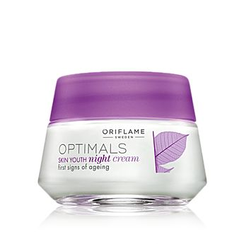 Optimals Skin Youth Night Cream - Oriflame Optimals Smooth Out - Skin Care - Shop for Oriflame Sweden - Oriflame cosmetics –UK & Ireland - Optimals Skin Youth Night Cream 25203 |orinet/