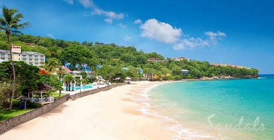 Sandals La Toc St Lucia All Inclusive Resort - Honeymoon destination!! :) This is where we are going!