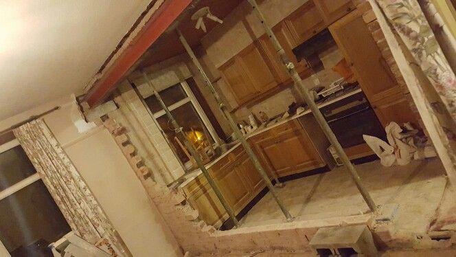 Kitchen knock through
