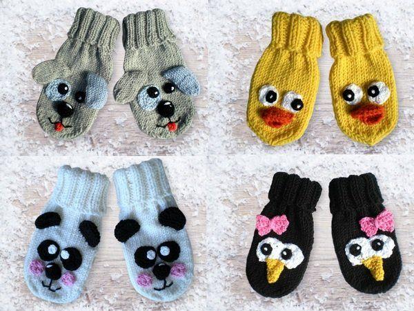 Gut bekannt Handschuhe für Babies und Kleinkinder in 5 verschiedenen Größen YP19