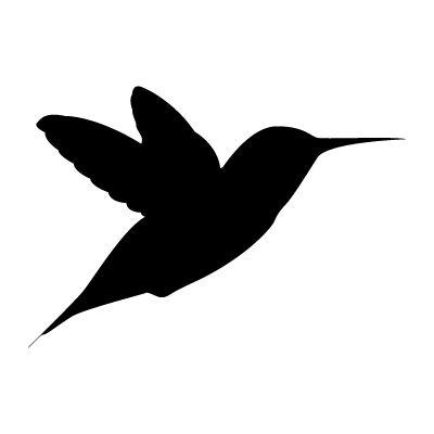 silhueta beija flor - Pesquisa Google