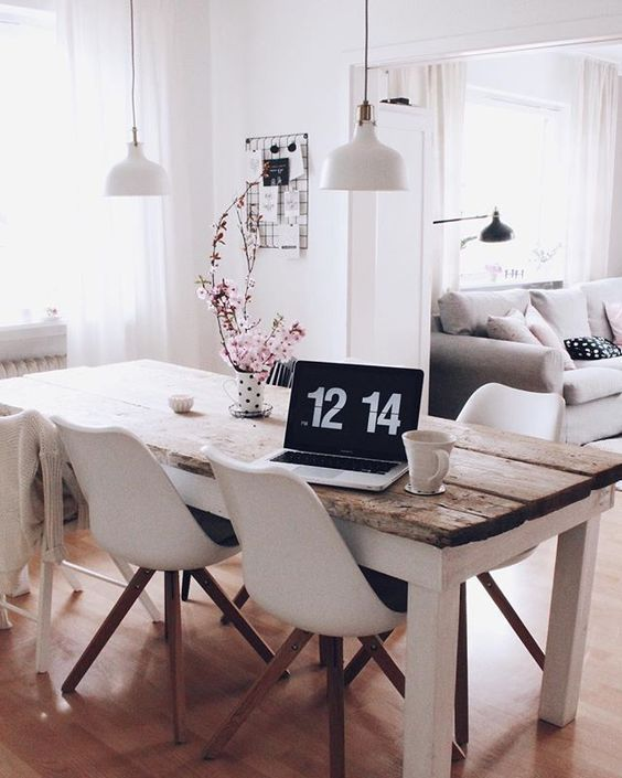 Diy Build Your Own Dining Table From Old Building Planks