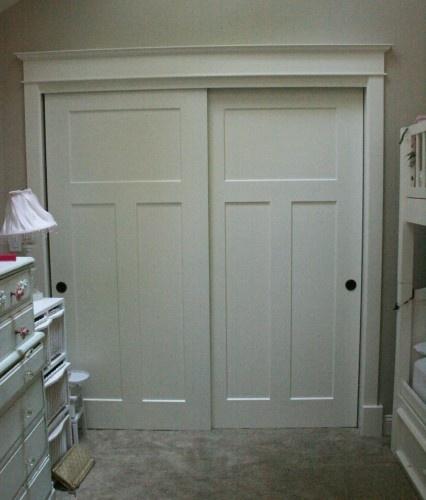 Redo Closet Doors In Bedrooms?