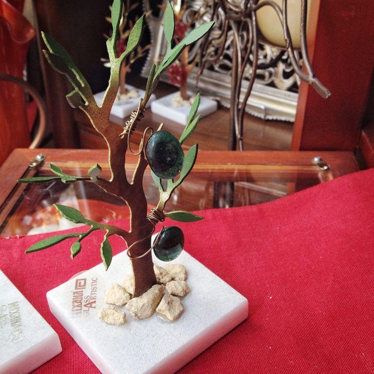 •Χειροποίητο δέντρο από μπρούτζο • #handmade #χειροποίητο