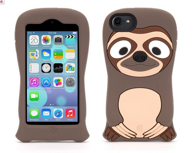 Griffin Sloth iPod Kazoo Case - sloths are the new owls and foxes! (At least, we think so, anyway).