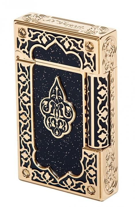 S.T. Dupont 1001 Nights gold lighter