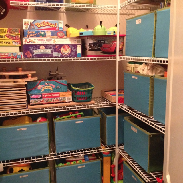 26 best images about attic room ideas on pinterest toys Closet toy storage ideas