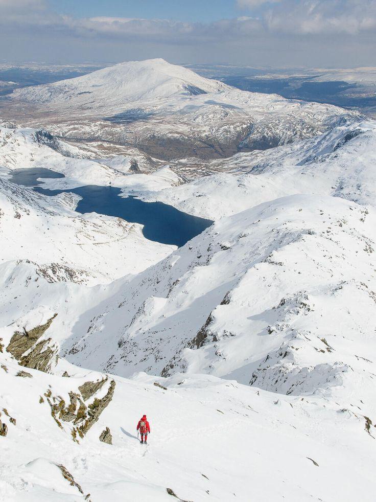 Mount Snowdon yesterday. Amazing...