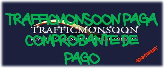 Decimoprimer pago en Trafficmonsoon – 13.53$