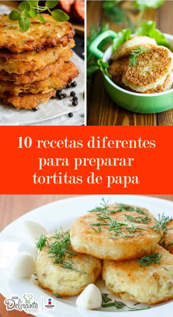 Prepara las más ricas tortitas de papa con estas prácticas recetas. Y ninguna se deshace.