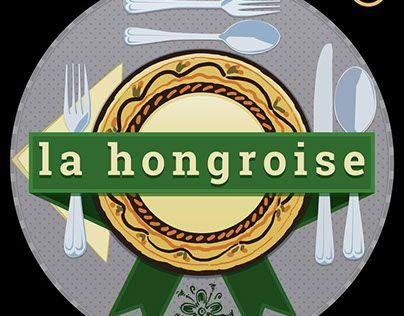 "Check out new work on my @Behance portfolio: ""la hongroise - logo"" http://be.net/gallery/36764709/la-hongroise-logo"