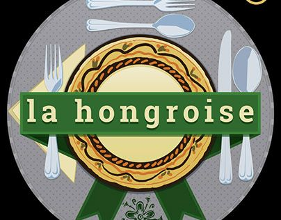 "Check out new work on my @Behance portfolio: ""la hongroise - logo"" http://be.net/gallery/36764709/la-hongroise-logo"