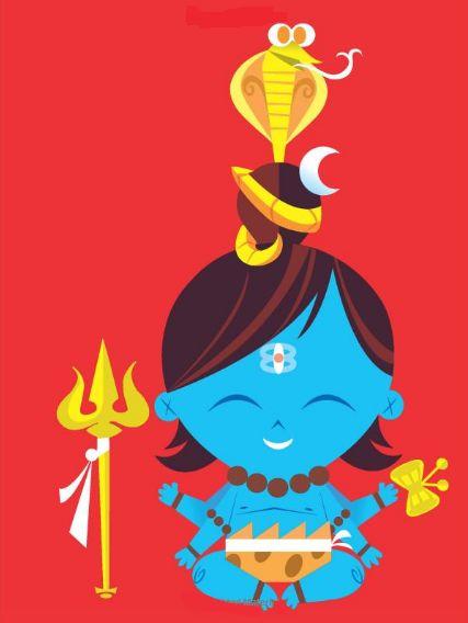 Animations, Illustrations & Indian Deities - studio t blog