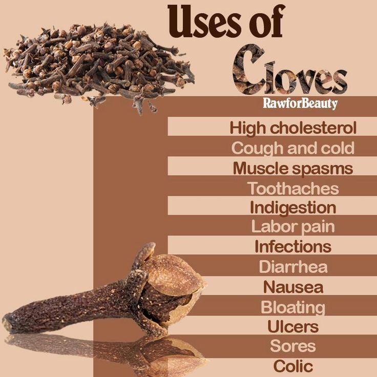 Cloves Healthful benefits