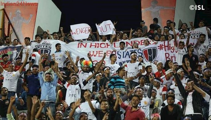 NorthEast United FC fans heckled by Chennaiyin FC supporters, watch video