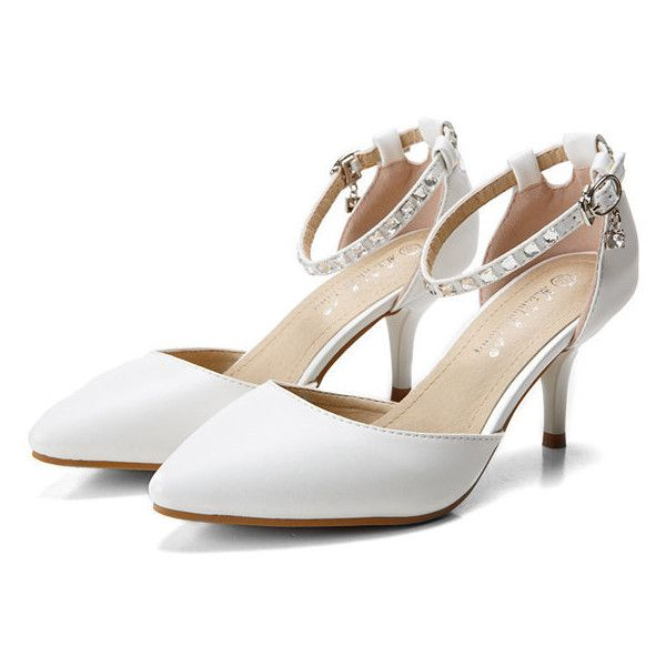 1000  ideas about White Strappy High Heels on Pinterest | White ...