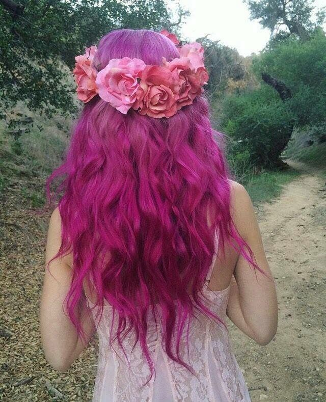 Bright Hair Colors Colourful Hairstyle Ideas Crazy Epic Colored Unicorn Photo