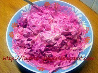 Τα φαγητά της γιαγιάς: Παντζάρια σαλάτα με σάλτσα μαγιονέζας και γιαουρτι...