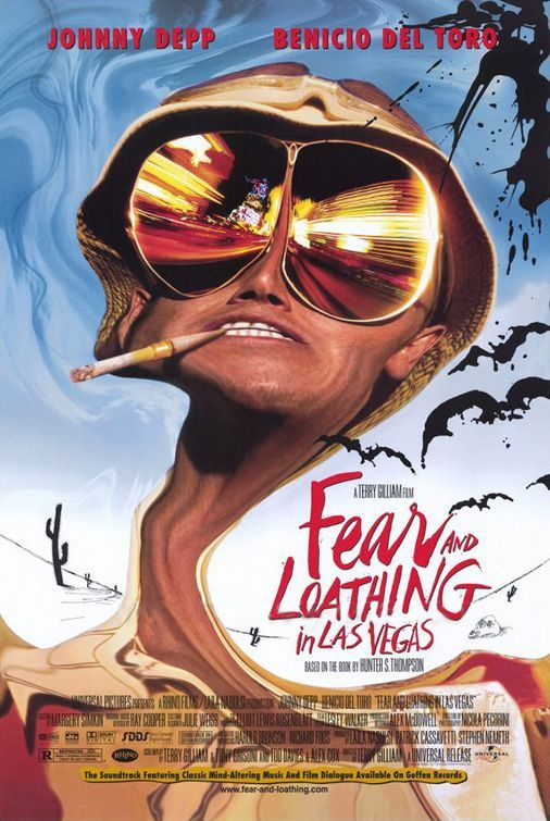 No.3 Fear and loathing in las vegas - Terry Gilliam 1998