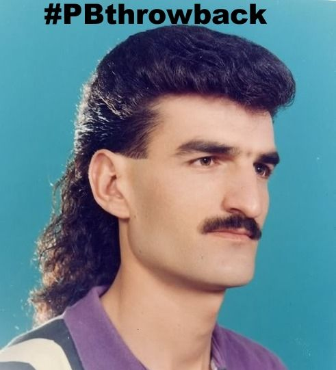 We love Throwback Thursday here at Photobucket - like this awesome mullet throwback.. business in the front, party in the back!