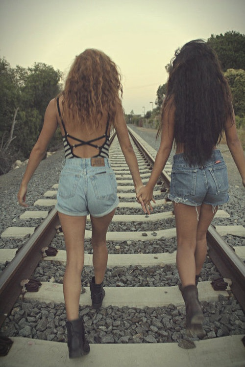 with your BFF