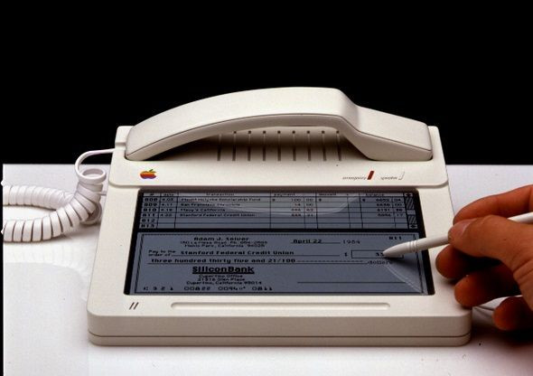 The original Apple iPhone, from 1983