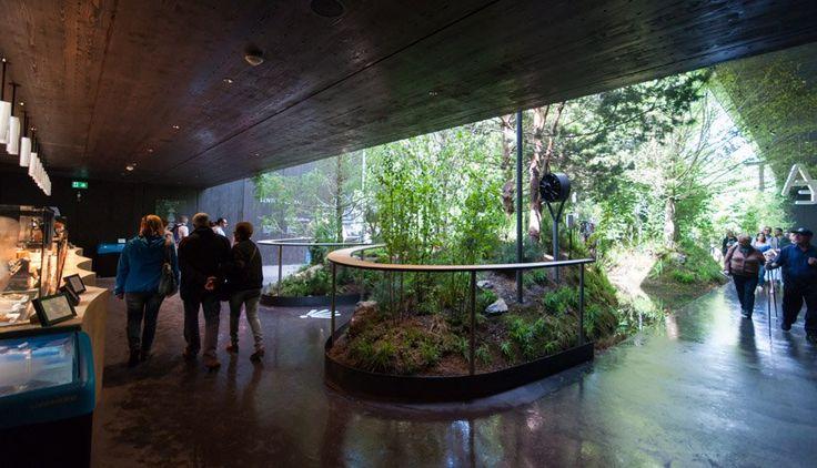 Il padiglione dell' Austria a @Expo2015Milano, fotografato da Inexhibit. Articolo completo su http://www.inexhibit.com/case-studies/milan-expo-2015-breathe-austria-pavilion-preview/