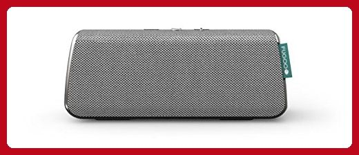 FUGOO Style - Portable Bluetooth Surround Sound Speaker Longest Battery Life with Built-in Speakerphone(Silver) - Audio gadgets (*Amazon Partner-Link)