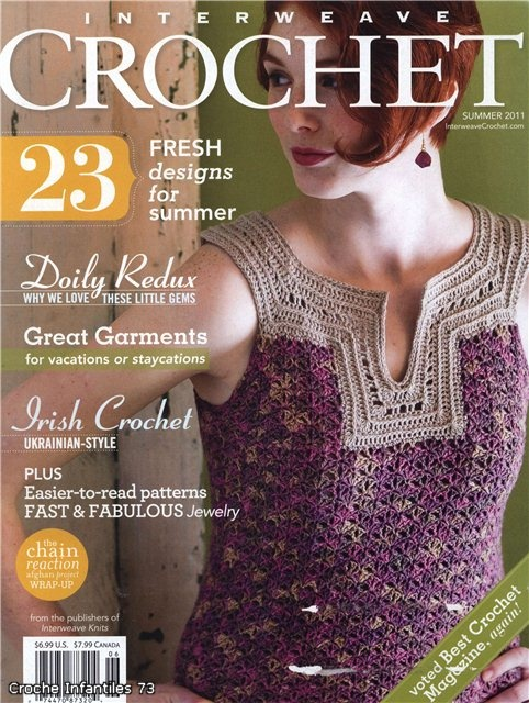 Interweave Crochet summer 2011. Comments: LiveInternet - Russian Service Online Diaries