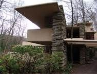 frank lloyd wright - stone wall - different levels of cointerlevers