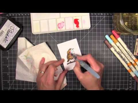 Awash With Watercolor, InTouch Newsletter March 2014 - Part 2