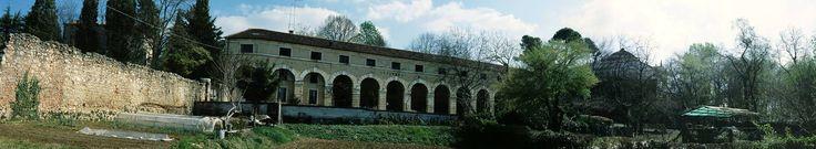 Vicenza, annessi rustici di Villa Almerico-Capra 'La Rotonda' (1570) uno dei più famosi monumenti di Andrea Palladio (e Scamozzi) #Italy