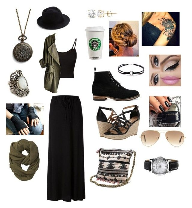 """""""Untitled #15"""" by siddle1230 on Polyvore featuring Splendid, ASOS, Athleta, Marc Jacobs, Muk Luks, Report, Burberry, Auriya, Ray-Ban and Eugenia Kim"""