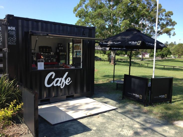 The Box Brand Cafe units cater for smaller footprint retailing, and small scale urban formats
