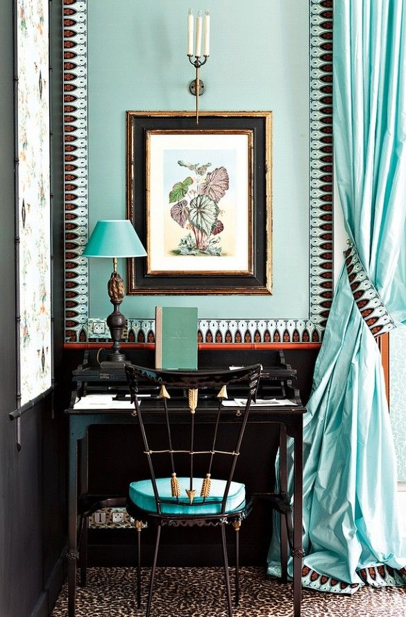 The House Blues: Aqua and Turquoise.   ZsaZsa Bellagio - Like No Other
