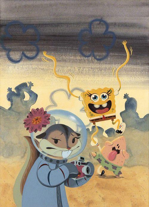 SpongeBob, Patrick & Sandy, Becky Dreistadt