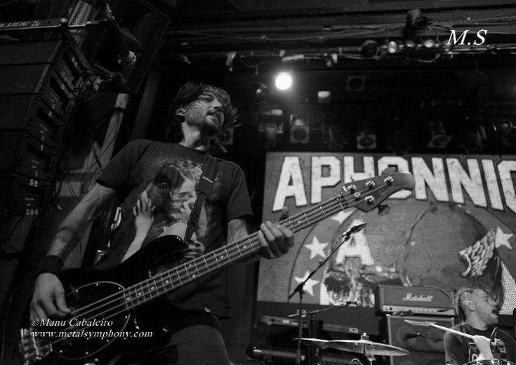 Aphonnic 3 Tenpel + Aphonnic + Catorce – 11 de Enero14 – Sala Arena (Madrid)
