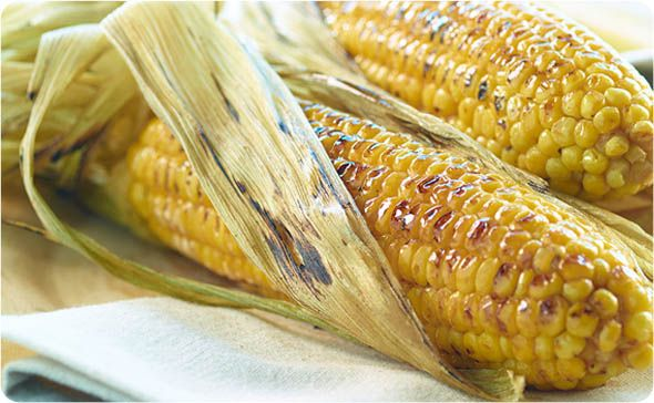 Honey Roasted Black Pepper Corn ~ There's nothing like grilled corn on the cob, and this recipe makes it even better. | BetterThanBouillon.com