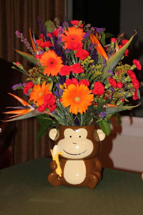 A Jungle theme baby shower