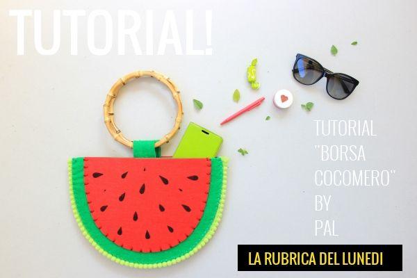 Tutorial borsetta fai da te: borsa cocomero by Antonella Palombizio! link: https://www.tessutietendaggipanini.it/blog/tutorial-borsetta-fai-da-te-borsa-cocomero/
