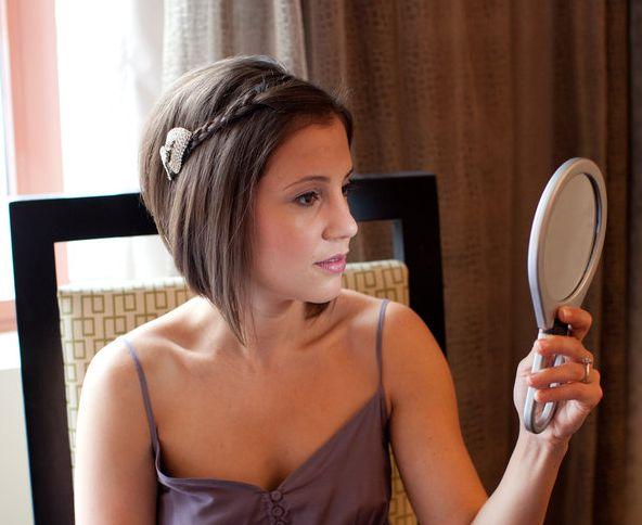 peinados fciles y preciosos para pelo corto