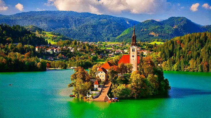 Haluan käydä vielä monta kertaa Sloveniassa.