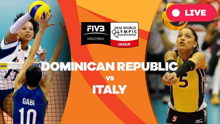 Dominican Republic v Italy - 2016 Women's World Olympic Qualification To...